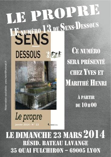 Affiche SD 13 Lyon A4