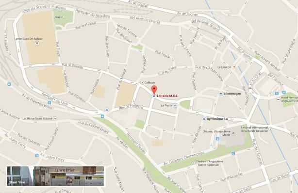 Adresse MCL Angoulême